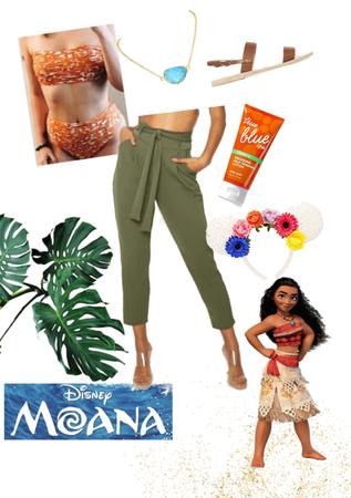 Moana: Disney Bound