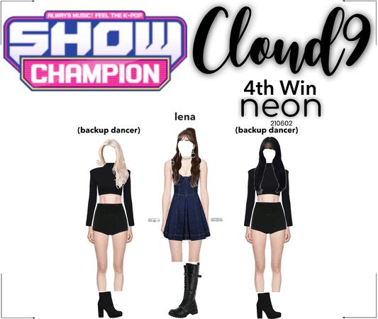 Cloud9 (구름아홉)   [SHOW CHAMPION] 4th Win