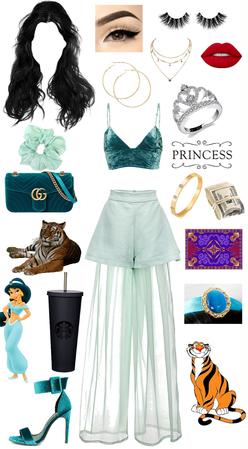 Princess style: Jasmine