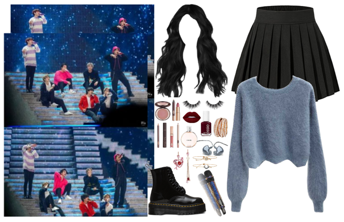 the 8th member: performance outfit2