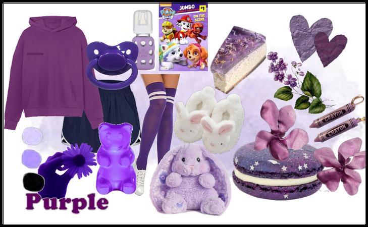 Age Regression—Purple