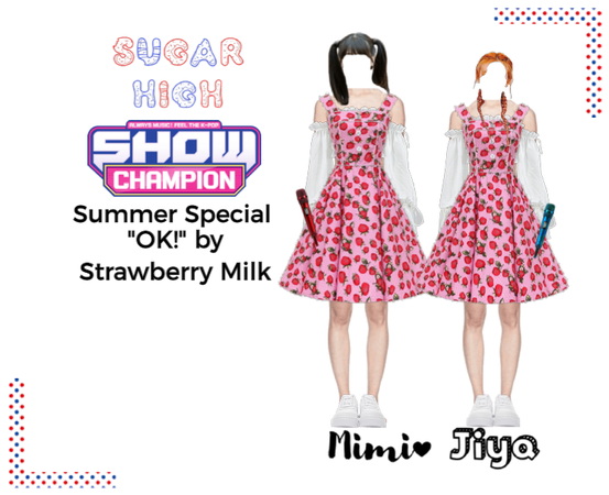 "Sugar High Show Champion ""OK!"" by Strawberry Milk"