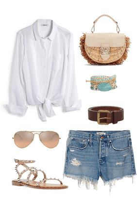 Simple shirt and shorts