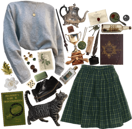 Minerva Mcgonagall- Outfits Inspired by Professors