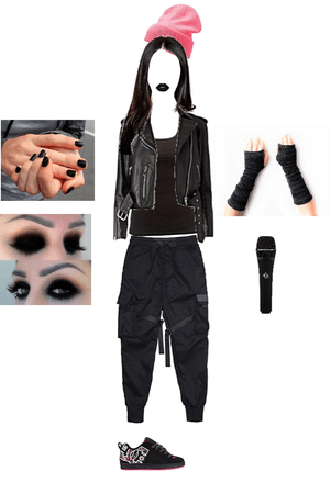 Alternative Goth Singer