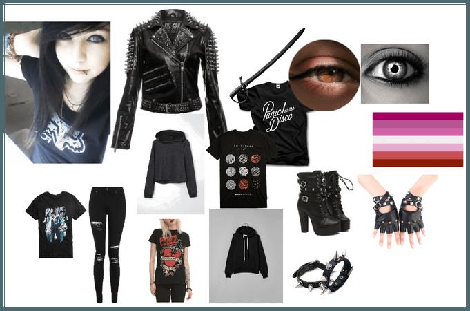 My ocs wardrobe:Midnight