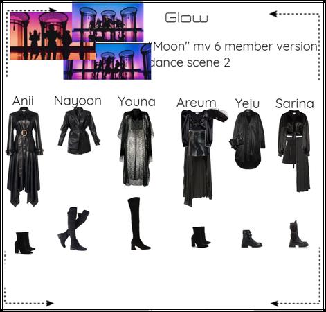 "Glow 6 member ""Moon"" version"