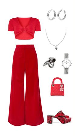 Red Monochromatic