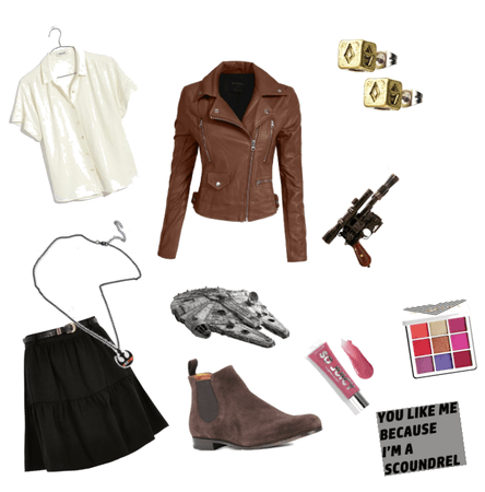 Han Solo outfit for girls