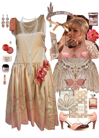 The Great Gatsby Peach