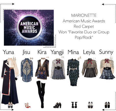 MARIONETTE (마리오네트) American Music Awards (AMAS) | Red Carpet