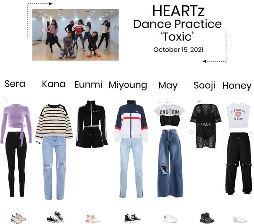 HEARTz//'TOXIC' Dance Practice