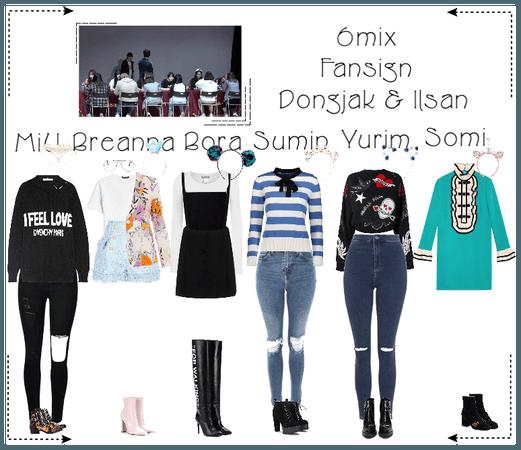《6mix》Dongjak & Ilsan Fansign