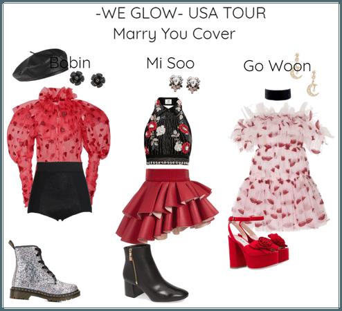 -WE GLOW- USA TOUR
