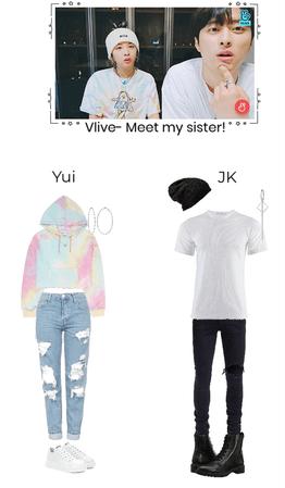 Vlive- meet my sister