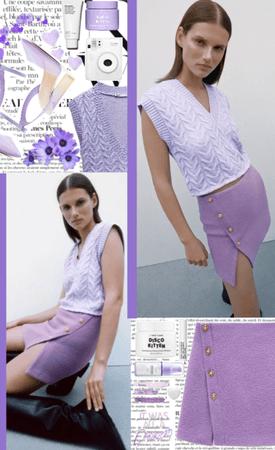 Mini Skirt Spring Trend 💜