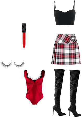 Cheryl Blossom inspired outfit