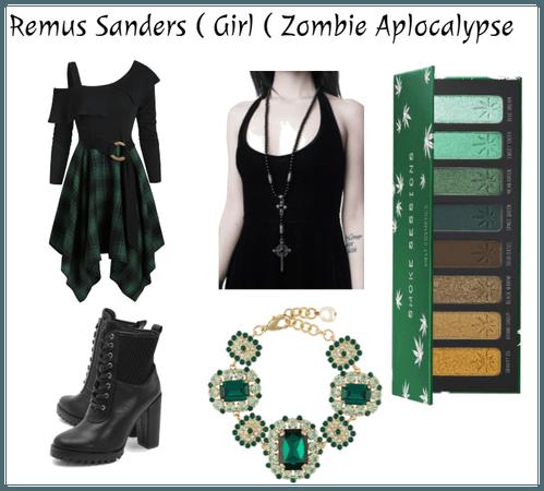 Remus Sanders ( Girl ) Zombie Apocalypse