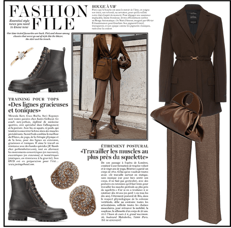 Blazer Style: Head to Toe Brown - Contest