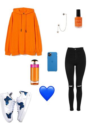 orang blue