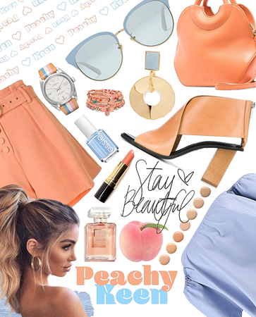 peachy keen | @rookie_14 contest