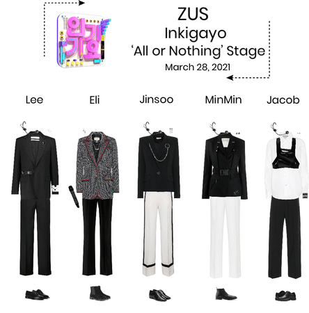 Zus//'All or Nothing' Inkigayo Stage