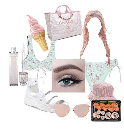 pinkie beach 🏖