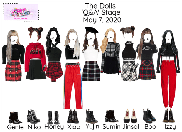 [The Dolls - Q&A] Music Bank & Read D!
