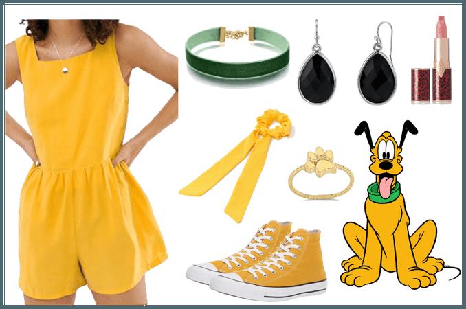 Pluto - DisneyBound