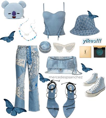 Paisley P (Blue tones)