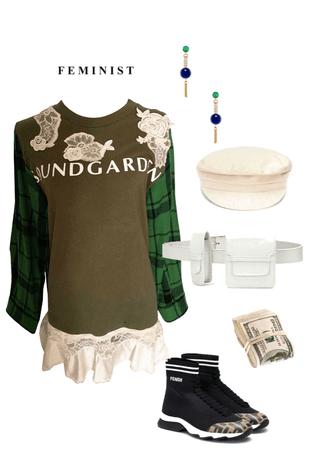 feminist military