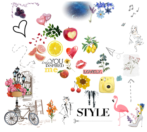 Style Idea Collage - summer chic