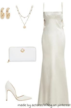 silky white