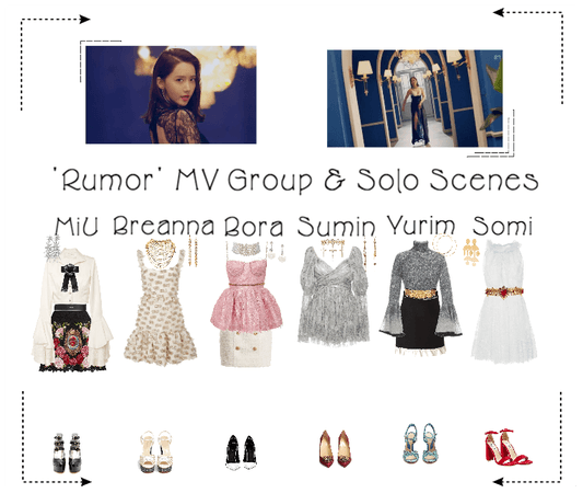《6mix》'Rumor' Music Video Filming