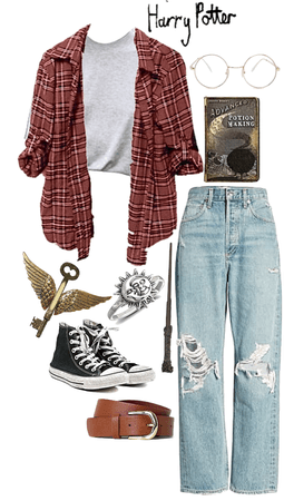 Harry Potter- Outfits Inspired by Characters