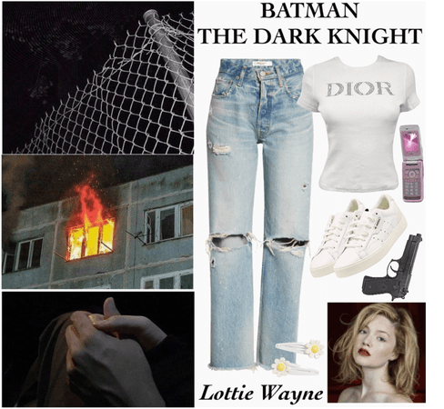BATMAN: The Dark Knight OC (Lottie Wayne)
