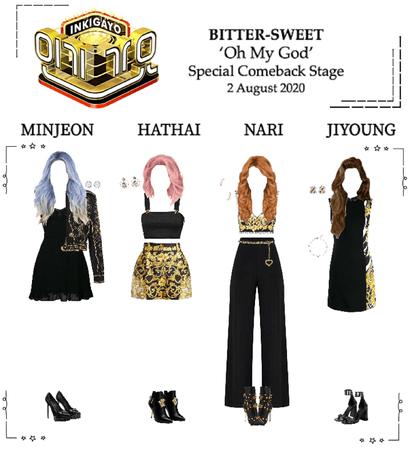 BITTER-SWEET [비터스윗] Inkigayo 200802