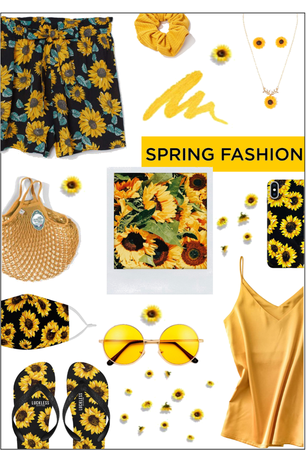 Sunflower Spring Outfit