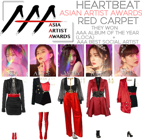 [HEARTBEAT] ASIAN ARTIST AWARDS | RED CARPET