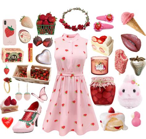 strawberries and cream 🍓
