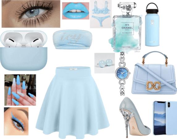 BABY BLUE* GIRLY* WONDERFUL