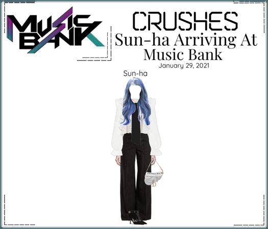 Crushes (호감) [Sun-ha] Arriving At Music Bank