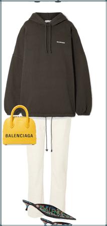 Hoodie (Balenciaga, £685).