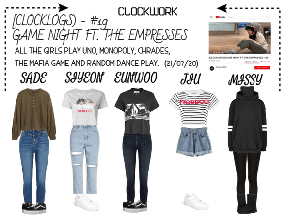*CWK* | CLOCKLOGS EP.19 | GAME NIGHT FT. EMPRESSES