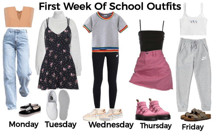 First week of school outifts