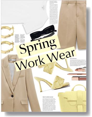 spring workwear 💛