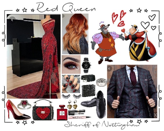 red queen &sheriff of Nottingham