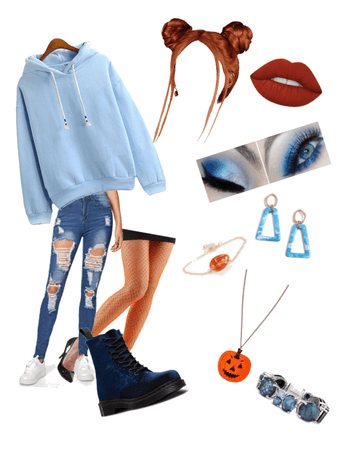 Complementary Colors: Orange and Blue