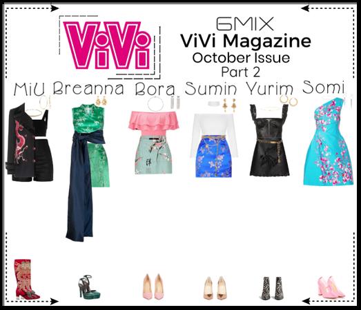 《6mix》ViVi Magazine Photoshoot (Part 2)
