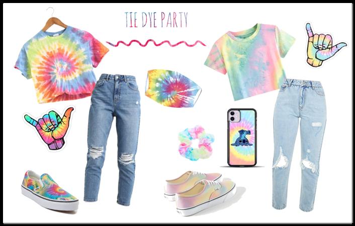 Tie Dye party  <3